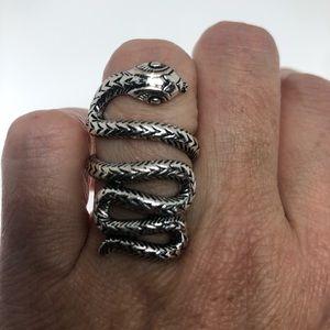 Vintage snake ring adjustable